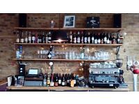 Full and Part time Wait & Bar Staff Required £8.50/hr plus Tronc