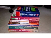 Assorted Medical Textbooks for Sale