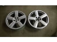 "audi alloys 18"" 3x RS6 & 1 RS4"