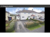 Large extended 3/4 bed 2 bath semi detached home with large garden and double driveway