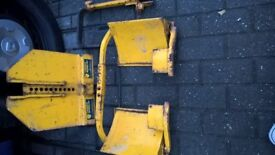 WHEEL CLAMP HEAVY DUTY IN USED CONDITION
