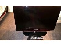 26 INCH SAMSUNG LCD HD FREEVIEW TV