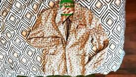 Handmade flower jacket