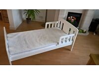 Bed for a baby from John Lewis.