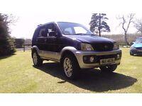 2003 DAIHATSU TERIOS 4 X 4 jeep for parts or repair field use no mot read ad