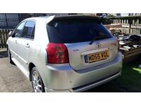 2006 (55) TOYOTA COROLLA SR RARE 1.6 VVTI PETROL 5 SPEED MANUAL 110BHP