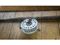 old cane fishing rod