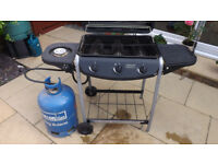 Gas Barbeque 3 burners with side burner