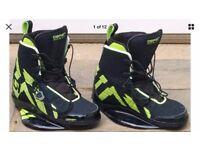 O'Brien NOMAD Wakeboard Kitesurf Bindings Boots UK Size 7-9