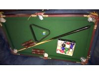 Cute little table top Pool Table