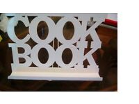 Recipe stand cook book holder and jamie oliver book