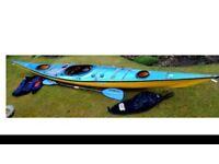 Sea Kayak built by Mike Donald