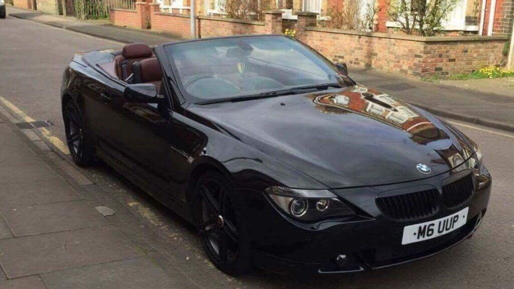bmw 630i convertible in alvaston derbyshire gumtree. Black Bedroom Furniture Sets. Home Design Ideas