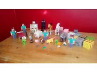 Minecraft figures and accessories
