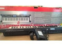 Korg X50 Synthesizer Excellent Condition. Boxed with original leads