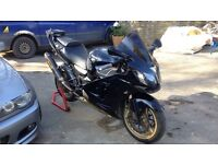 2003 ZX12R Ultimate Sports Touring Package. Akrapovic, PC3, Corbin, Luggage