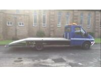 FORD TRANSIT LWB RECOVERY TRANSPORTER TRUCK