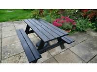 6 seater garden table