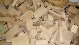 Kiln Dried Hardwood off-cuts - £1 per Kg