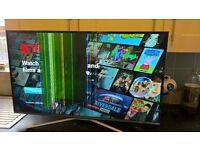 "40"" Samsung SMART HD TV screen damaged"