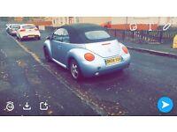 1.6 beetle convertible