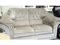 Two seater sofa.
