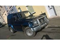 Daihatsu Fourtrak Independent 2.8 Tdx