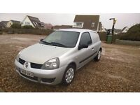2008 RENAULT CLIO CAMPUS 1.5 DIESEL MANUAL TAX FREE