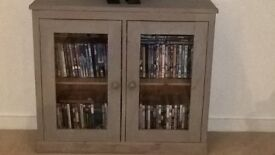 Grey Solid Pine Cabinet