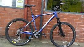 "GT Aggression 24 Gears XC3 Blue 20"" Mountain Bike"