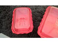 set of crocks containers