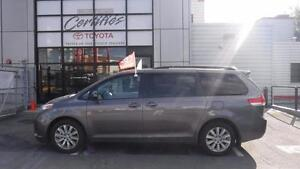 2014 Toyota Sienna LE AWD SIEGE EN CUIR SEULEMENT 27000 KM LEASE