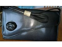 Small Black Shoulder Bag As New Condition