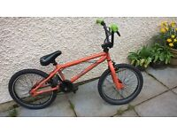 BMX Bike X-Rated 20inch wheels