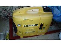 Kipor generator camping or boat