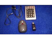 Tragus keypad set