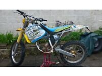 Husqvarna 125 2 stroke spares or repairs. please READ ad