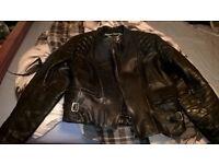 frank thomas bike jacket