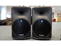 Mackie SRM 350 Active Speakers (one pair)
