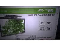 "Toshiba 22d1333 22""tv+dvd combo boxed"