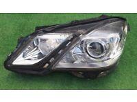 Mercedes E Class w212 212 Bi Xenon Headlight passenger left side e250 e300 e220 e200