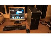 HP dual core pc