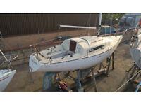 Albin 79 sailing boat