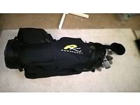 Powakaddy Golf bag and nine Callaway clubs for sale.