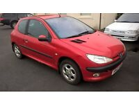 BARGAIN 2003 PEUGEOT 206 1.4 DIESEL CHEAP TO RUN AND £30 TO TAX TRADE IN TO CLEAR