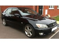 2001 Lexus IS200 Black