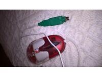 Collectable England Optical Aqua Mouse