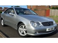 MERCEDES CLK 270 CDI AVANTGARDE A, RARE CAR(WARRANTED)LOW MILEAGE ,
