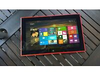 Nokia Lumia 2520 Windows 8.1 RT Tablet. 4G sim free. NFC. HDMI.Front and back camera.