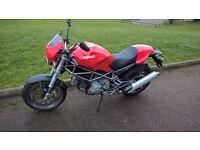2005 DUCATI M620 Capirex -02 RED
